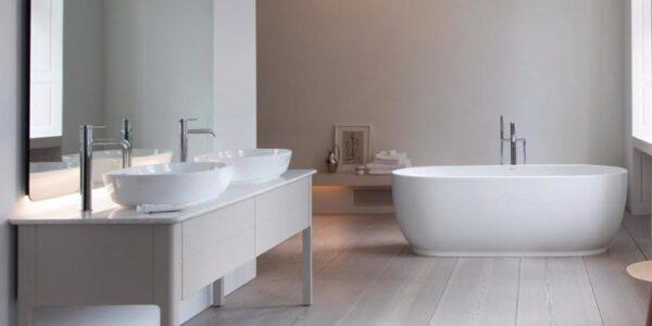 Duravit-badeværelse-badekar-inspiration-moderne-minimalistisk