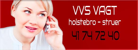 VVS installatør akut telefon
